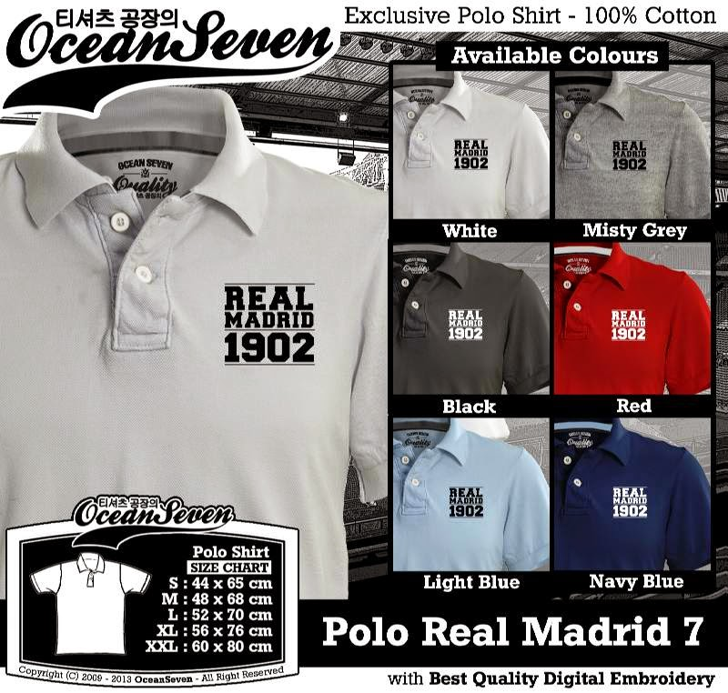 Kaos Polo Real Madrid 7