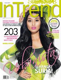Blog Life Of Reflisia dalam Majalah Intrend Edisi Julai 2011