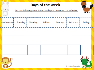 Days of the Week Worksheets | guruparents
