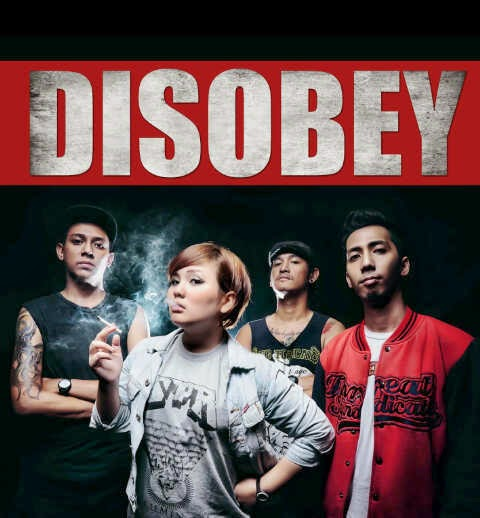 Disobey band Female Vocal hardcore Punk Medan foto personil logo wallpaper