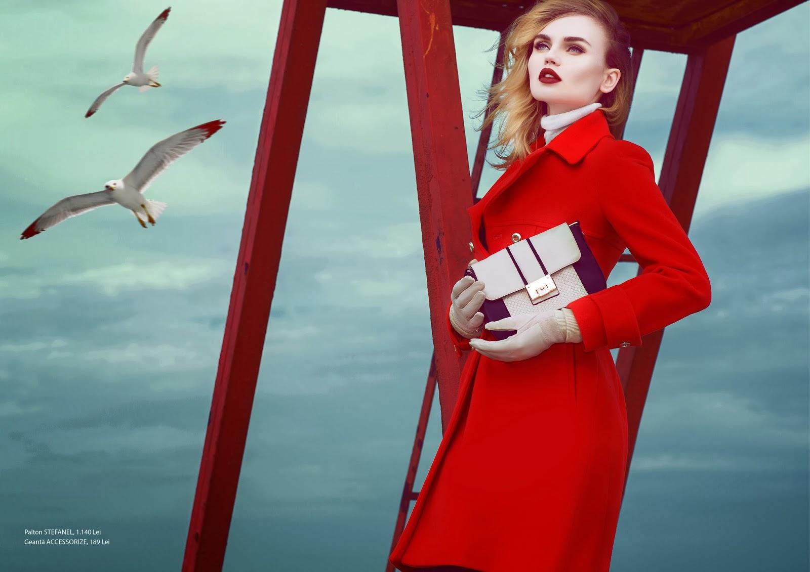 Magazine Photoshoot : Elena Matei Photoshot For Stefan Dan Rumours Magazine January 2014 Issue
