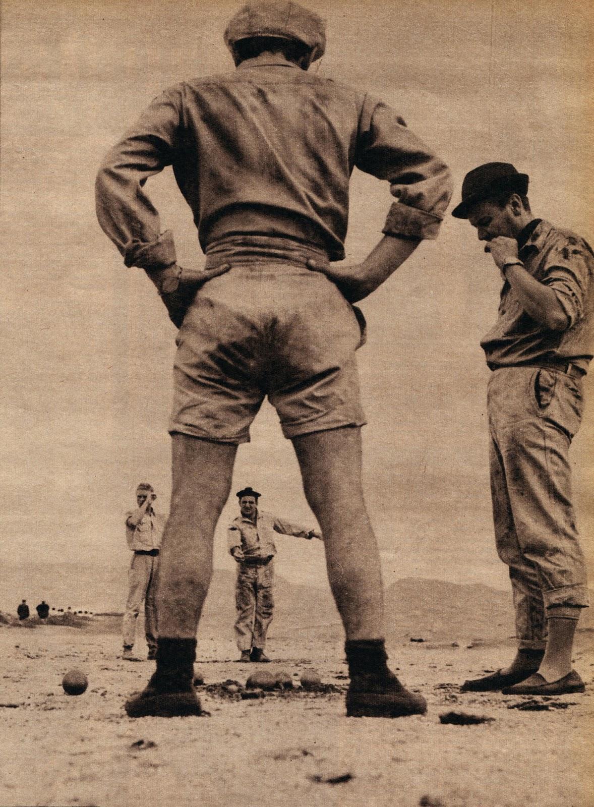 Lino Ventura jouant aux boules 7