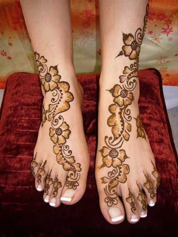 Mehendi Ceremony Meaning : Beautiful eid collection for girls best mehndi designs