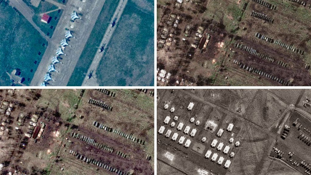 Massing Of 15,000 Ukraine Troops, Hundreds Of Tanks Around Slavyansk - Satellite Images