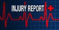 NFL INJURY REPORT