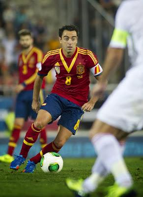 Spain Football Team 2013