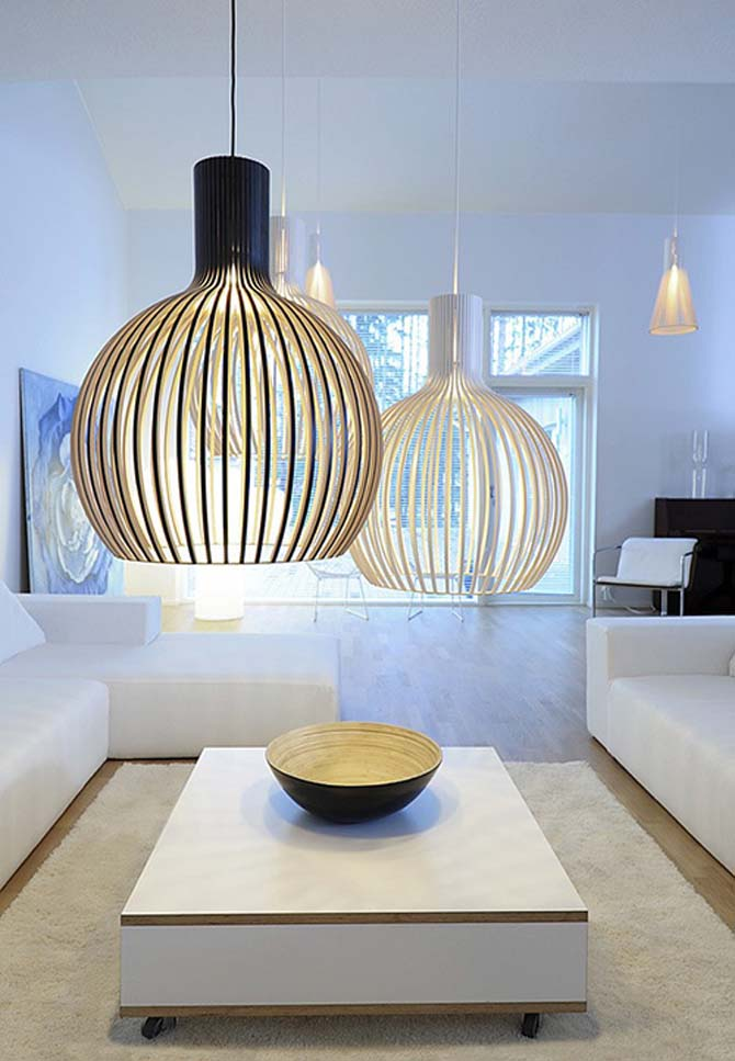 Contemporary Scandinavian Pendant Lights By Secto Design