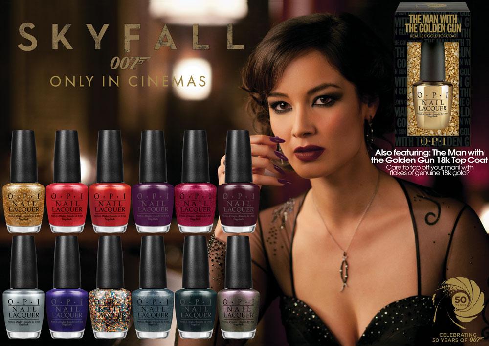 Jewel Me Love: Bond (Girl) Fever - Skyfall Nail Polish by OPI
