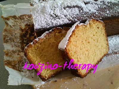 Αρωματικό κέικ εσπεριδοειδών με μπαχαρικά