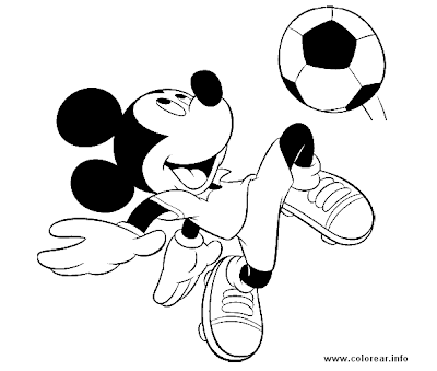 coloring pages printable for kids : mickey mouse