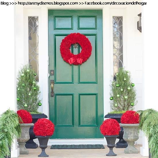 decoracin de puertas navideas by