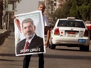 Foto Presiden Mursi (foto NYTimes)