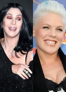 Cher and Pink