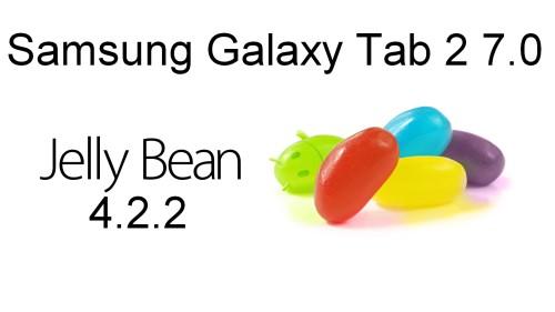Iniziato l'aggiornamento a livello internazionale alla nuova versione android 4.2.2 per il tablet Galaxy Tab 2 7.0 P3100
