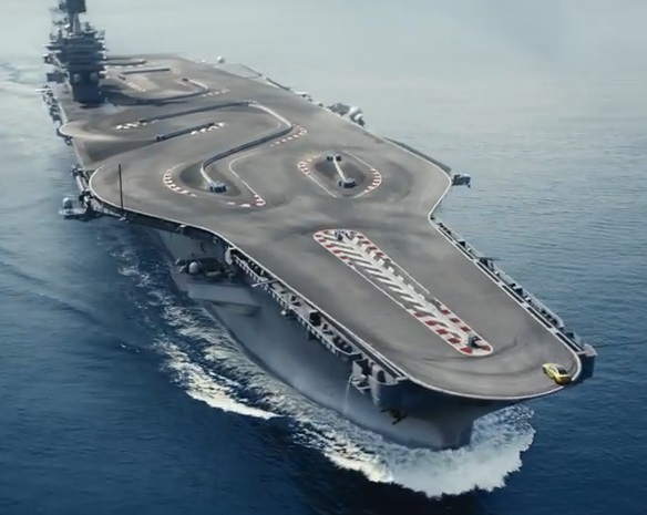 bmw on a carrier