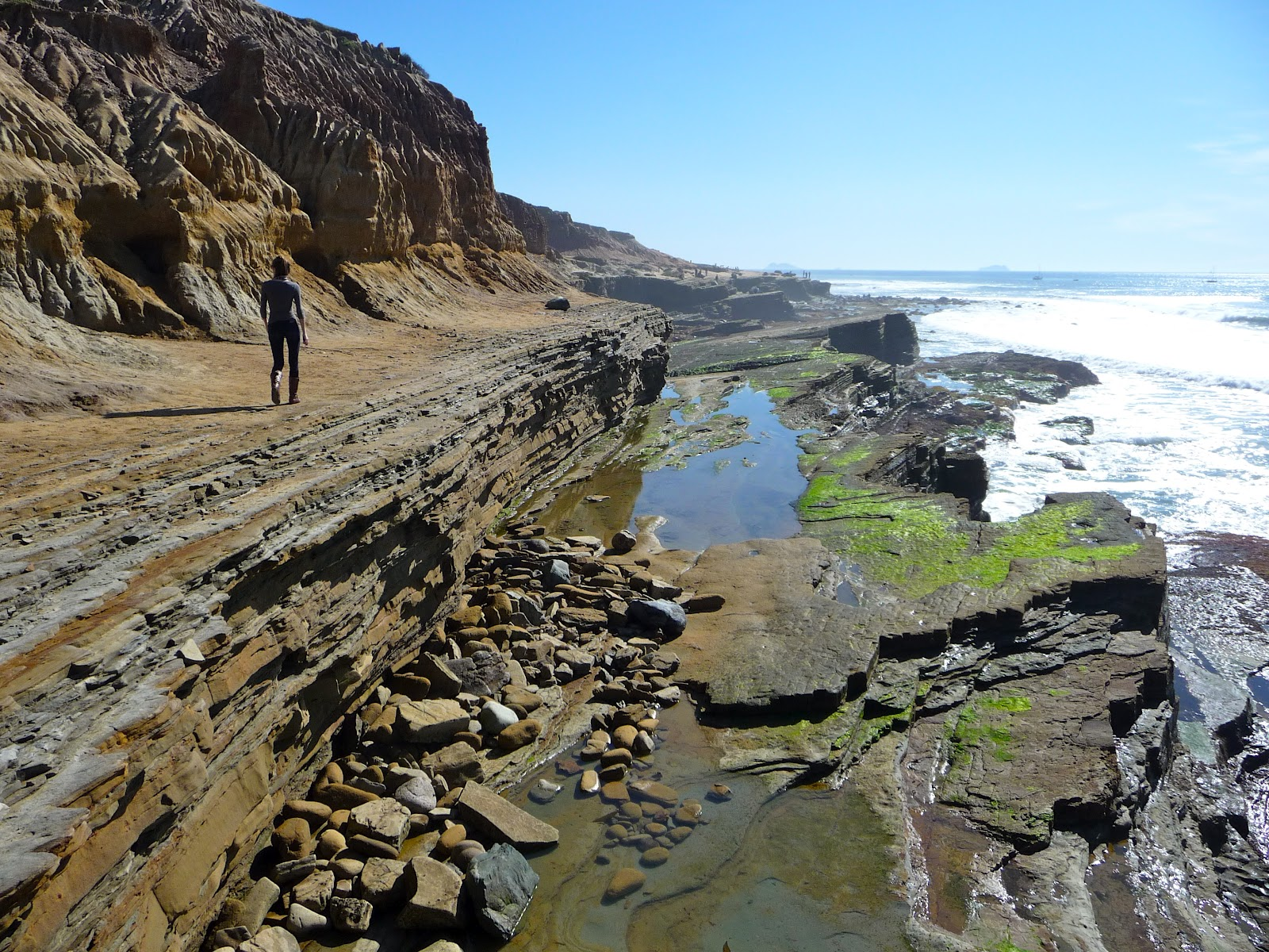 Exploring san diego sunset cliffs point loma for Tides for fishing san diego