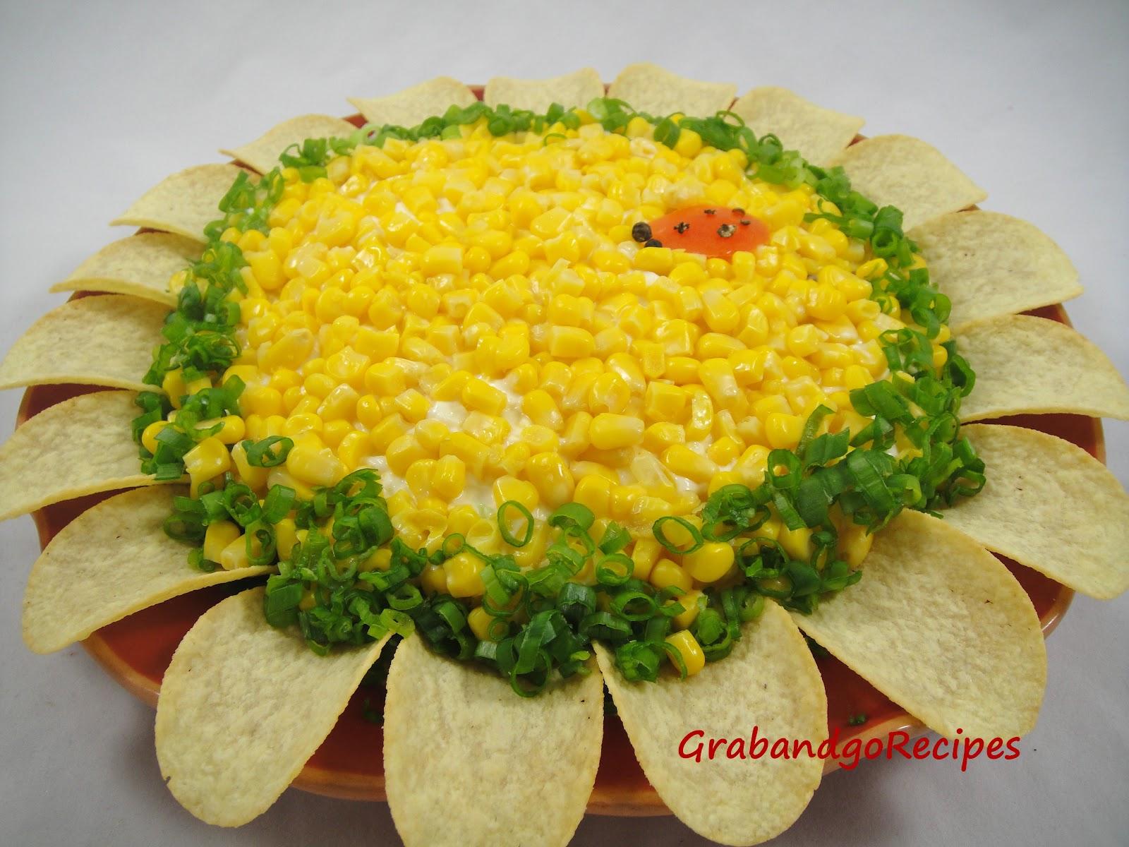 Салат подсолнух с чипсами рецепт 23 фотография
