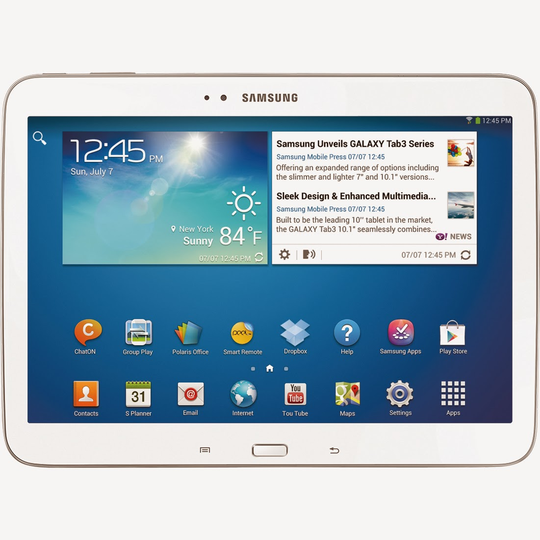 03/26/14 Samsung Galaxy Tab 3 10.1 – 16 GB White With 1 Year Insurance Giveaway