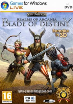 Realms of Arkania: Blade of Destiny PC Cover