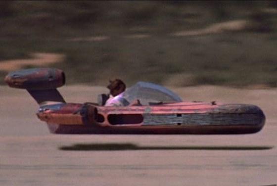 Landspeeders, nave de transporte de Luke Skywalker