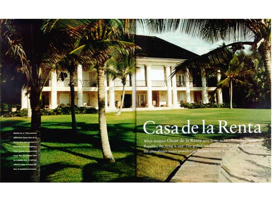 Oscar De La Renta additionally Oscar De La Renta further House Of Breezes Oscar And Francoise De together with Garden Gallery Marella Agnellis Marrakech Garden together with Beachfront Luxe Oysters Most Decadent Hotels On The Sand. on oscar de la renta house dominican republic