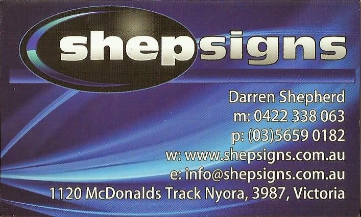 Darren Shepherd - Sponsor