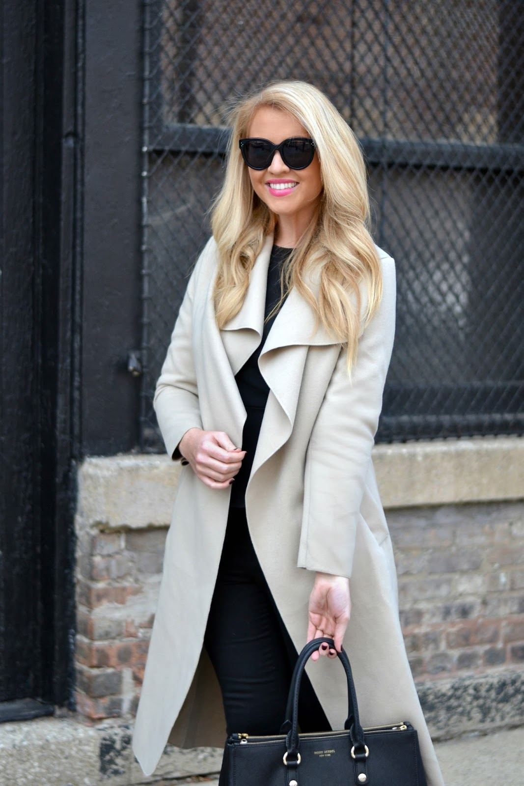 long wrap coat with belt