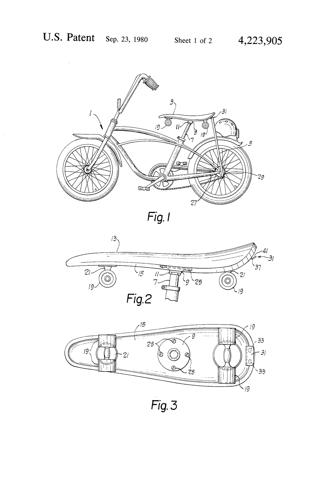 Patent US6648363 - Composite sports board such as a skateboard ...