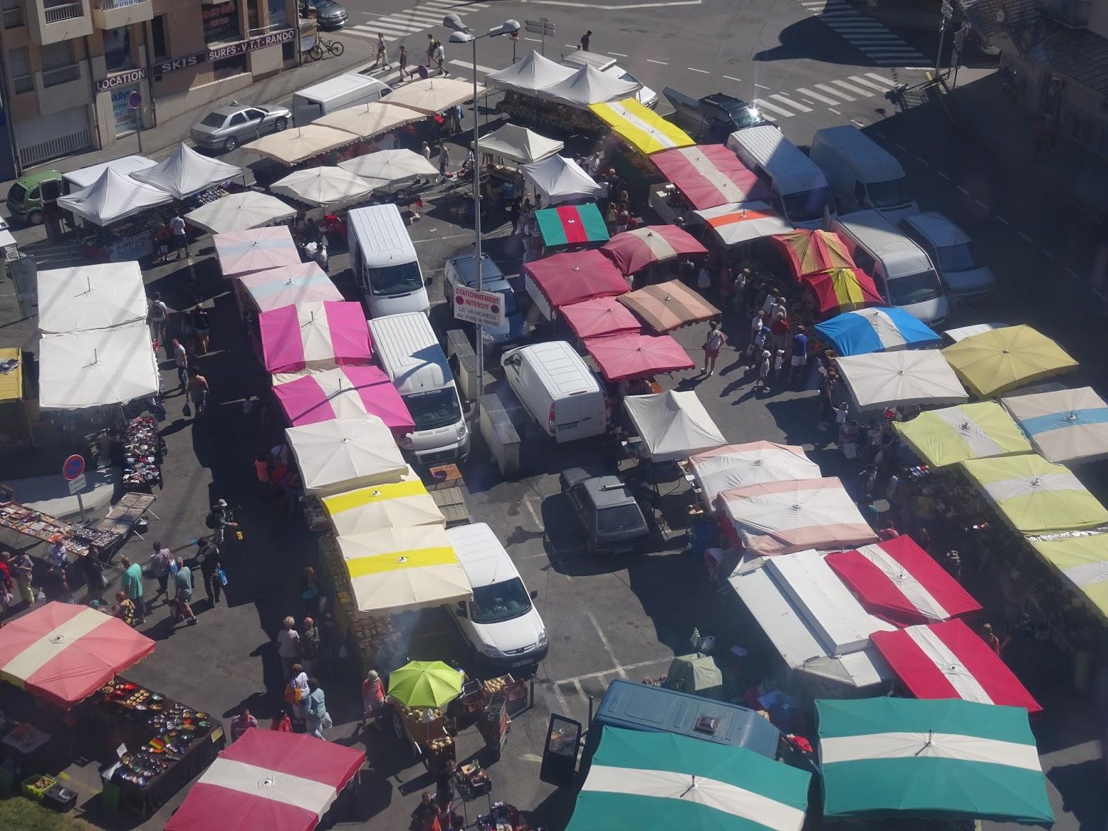 Markt in Cauterets