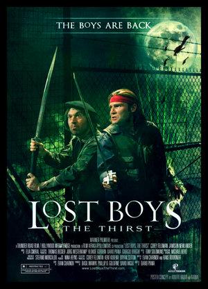 Lost boys: The thirst (Los muchachos perdidos 3: La sed) (Jóvenes ocultos 3: Sed de sangre) (2010) español Latino