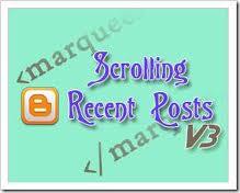 Cara Membuat Resent Post Pada Blogspot