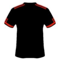 Desain Jersey Bola Warna Hitam Simpel