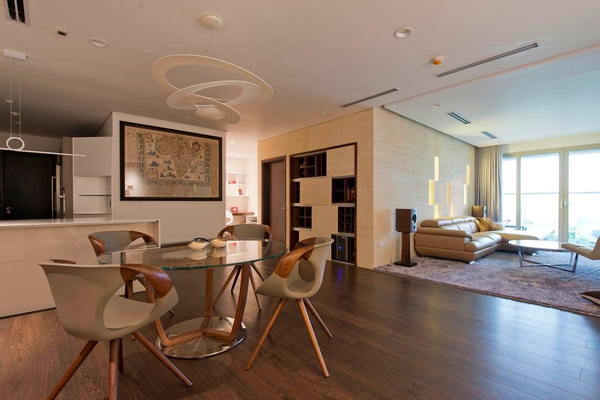 Cải tạo nội thất căn hộ cao cấp 170m2.