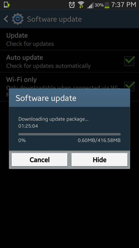 How To Update Android 44 Kitkat On Samsung Galaxy Note 2