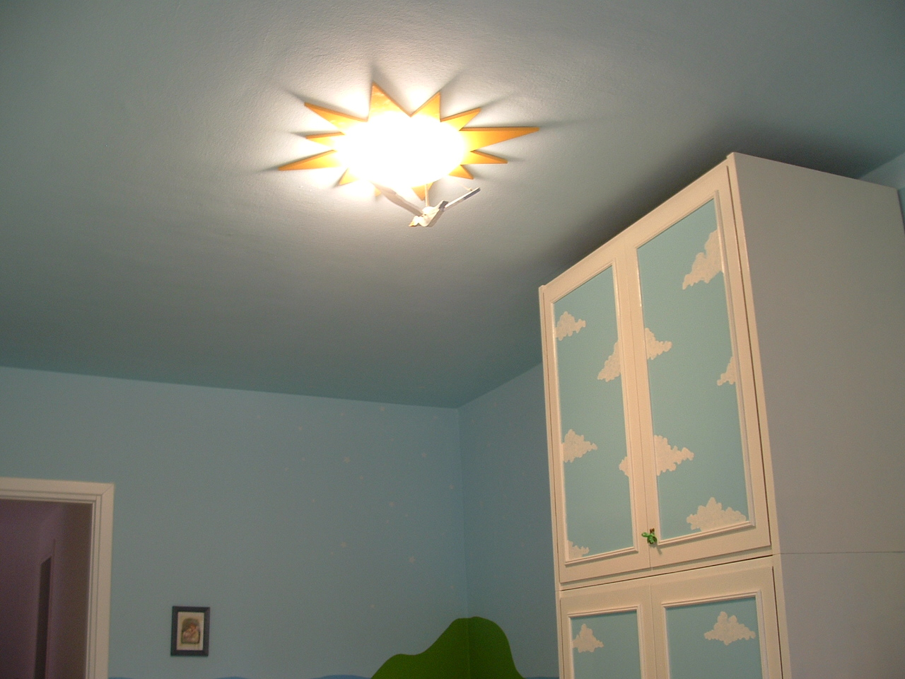 Plafoniera Cameretta Ikea : Ricicla e crea plafoniera sole