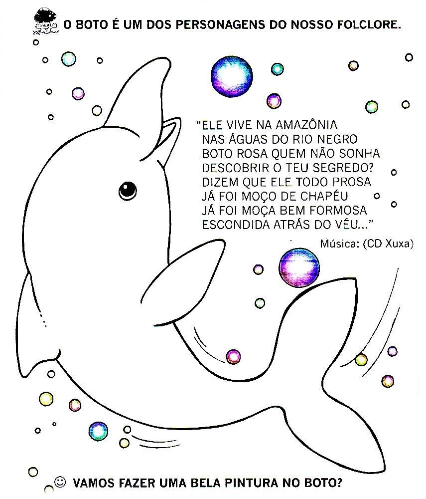 Excepcional Blog Professor Zezinho : Folclore - Atividades para Imprimir HC15