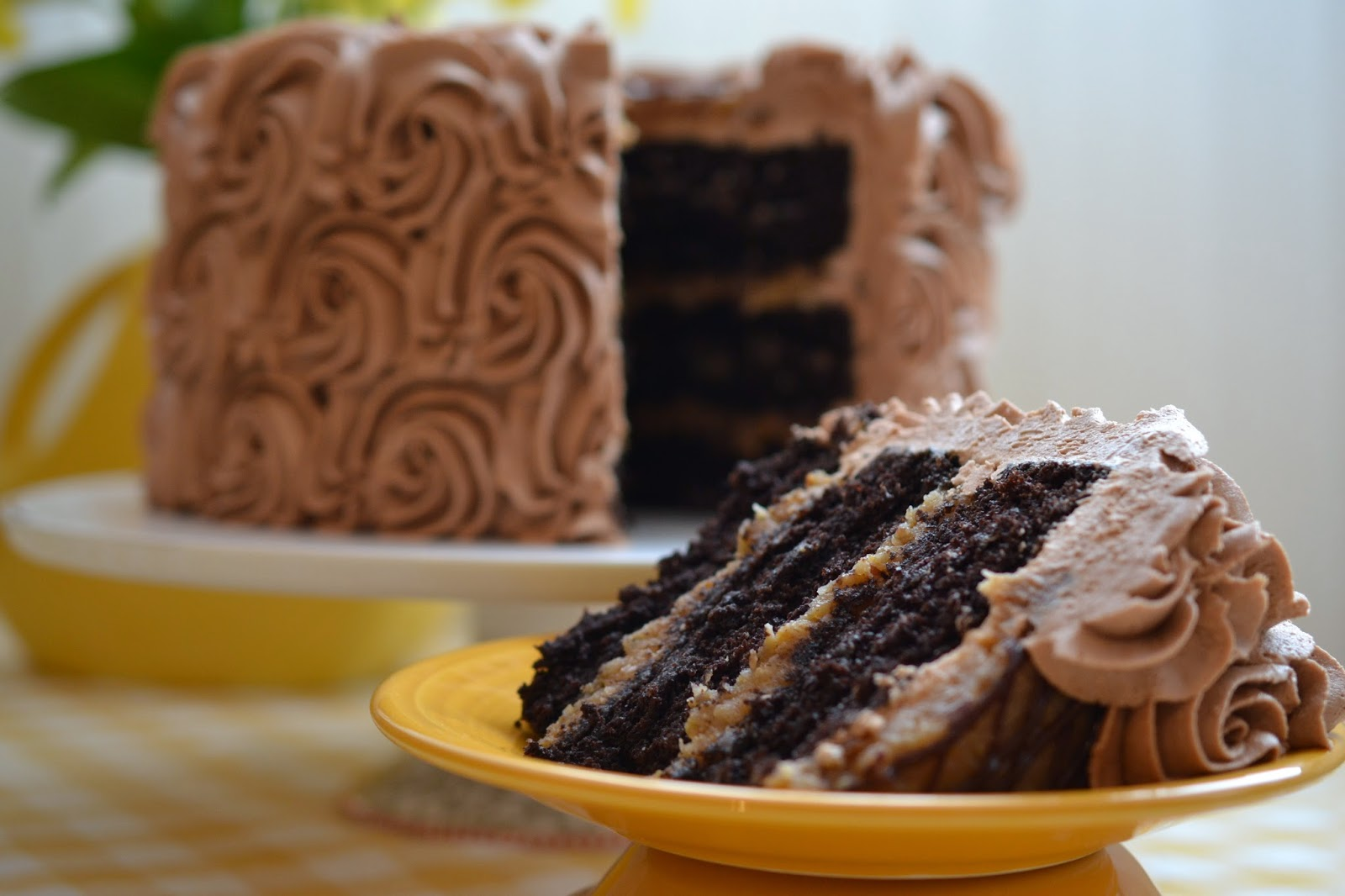 Delicious German Chocolate Cake | The Sugary Shrink