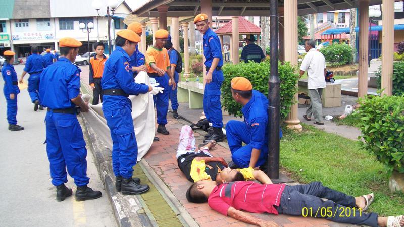 Sri Aman Malaysia  city images : ... Sri Aman: Jabatan Pertahanan Awam Malaysia Daerah Sri Aman anjur