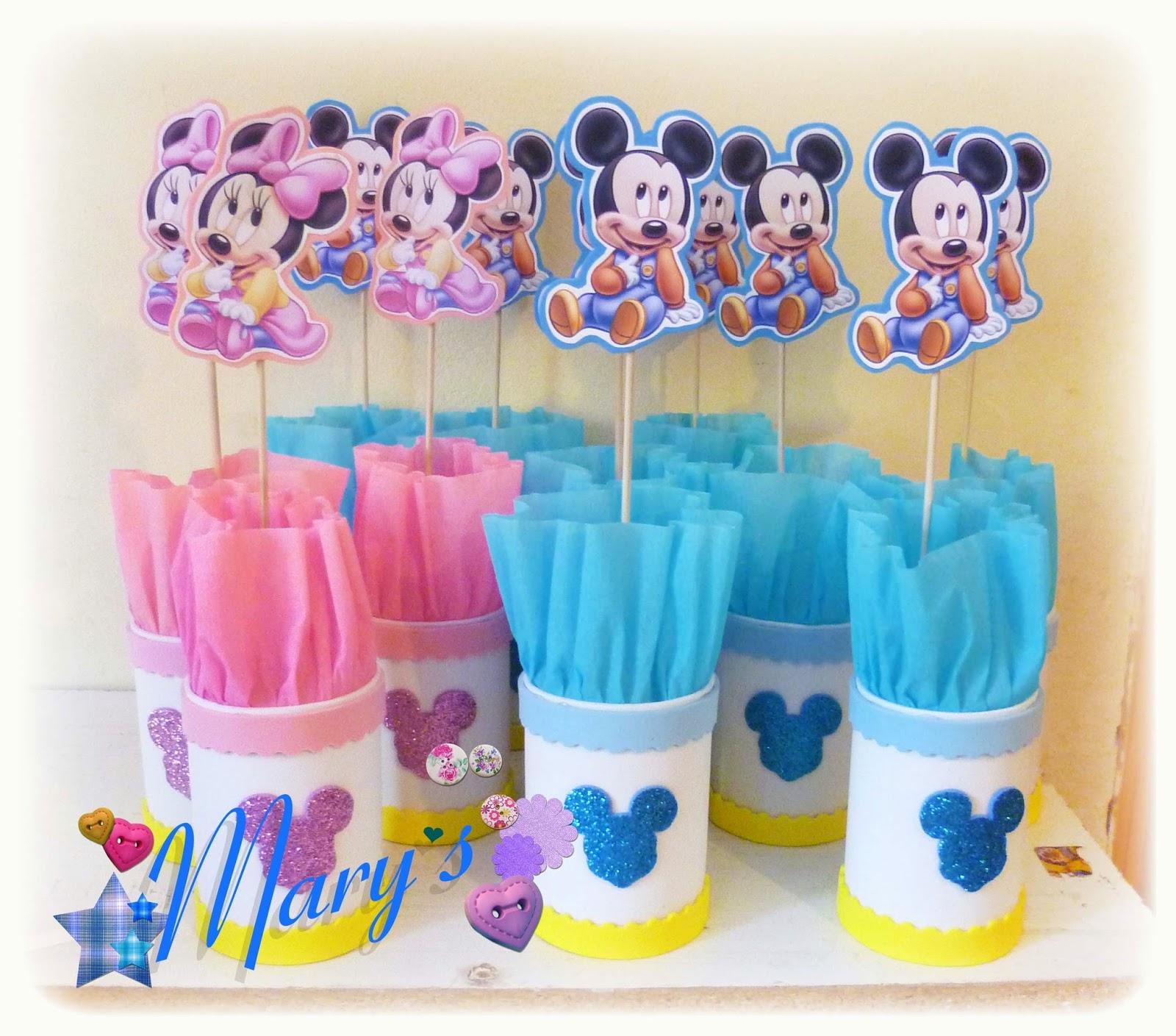 Mary´s Creaciones: Cumpleaños Baby Disney