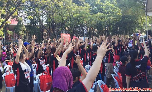 White Ribbon Run 2015 , Break the Silence, End the Voilence Against Women, Awam, All Women's Action Society, fitness, run, walk, women run, run for a cause