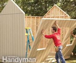 Build a shed for $500