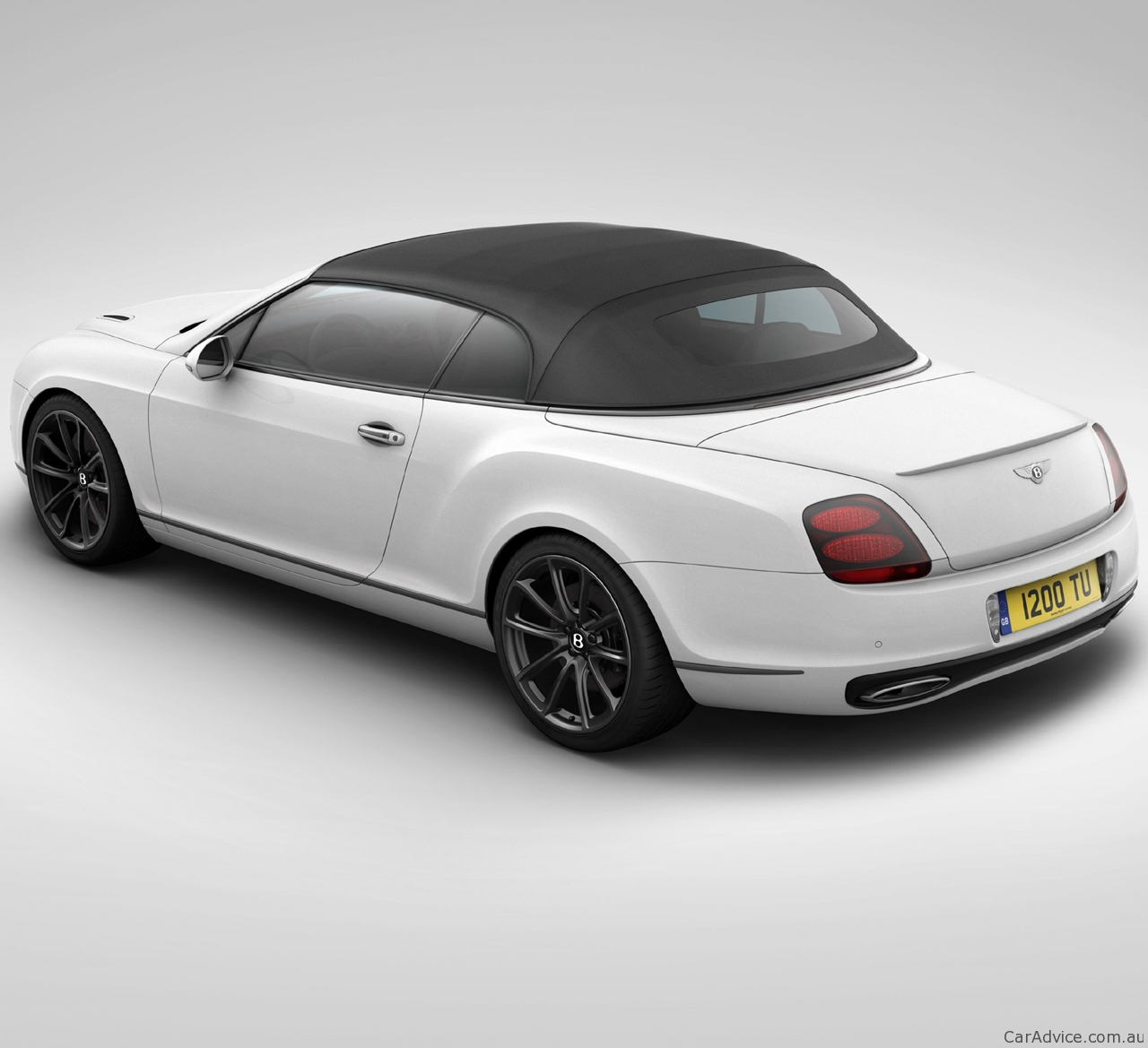 Bentley Convertible Price: 2011 Bentley Continental SuperSports Ice Speed Record