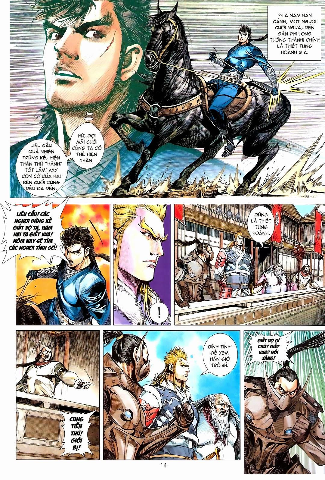 tuoithodudoi.com Thiết Tướng Tung Hoành Chapter 110 - 14.jpg