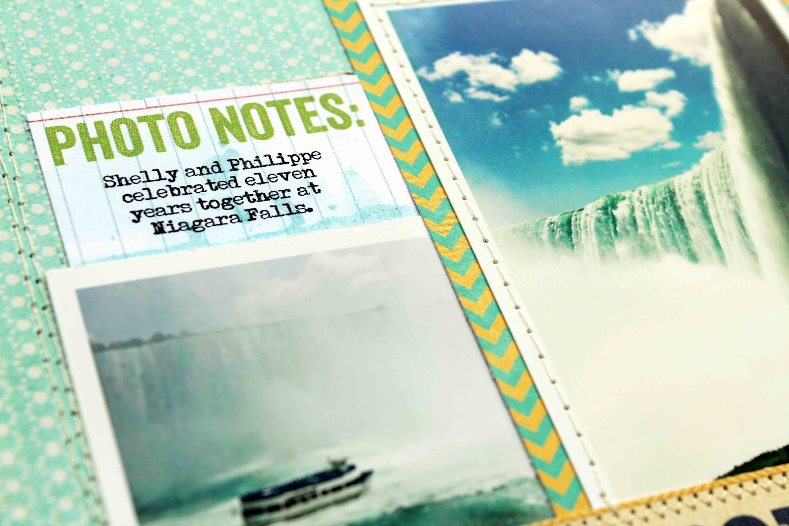 Scrapbook ideas niagara falls - I Should Also Add Another Requirement Of Mine When It Comes To Tags Labels And Journaling Cards They Should Welcome Alterations Like These Did When I