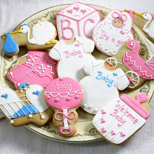 cookie designs for all occasions but especially for baby showers