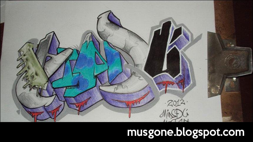 graffiti mindú