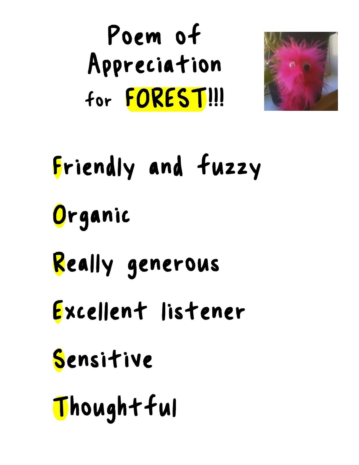Appreciation Poems Poems of Appreciation to