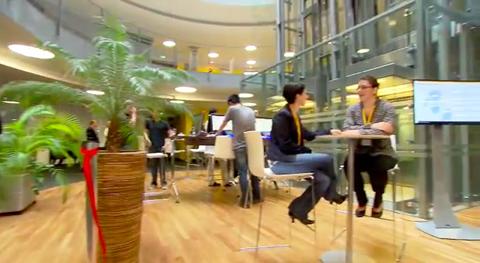 """""""Genius Bar"""" de SAP à Waldorf"""