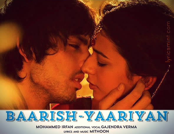 Baarish from Yaariyan