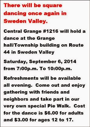 9-6 Square Dancing In Sweden Valley